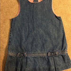 4/$20 Baby Gap Jean dress t-shirt material  lining